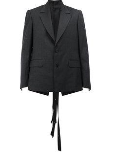 пиджак в тонкую полоску с пуговицами сзади Y / Project