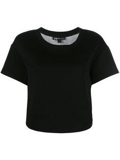 футболка с заплаткой с логотипом Y-3