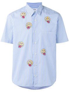 полосатая рубашка с принтом смайликов Jimi Roos