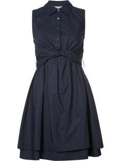 расклешенное платье с завязками Derek Lam 10 Crosby