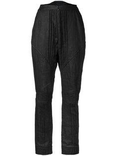 плиссированные брюки Aganovich