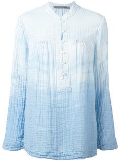 "рубашка с узором ""тай-дай"" Raquel Allegra"