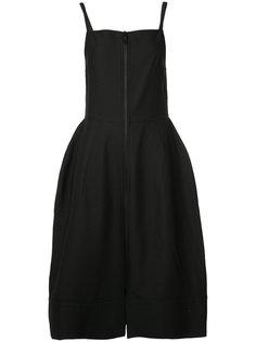 платье с квадратным вырезом Vera Wang