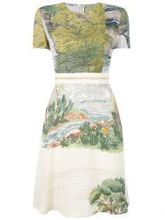 платье с принтом Stella McCartney