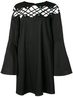 платье со шнуровкой Katerina Zac Zac Posen