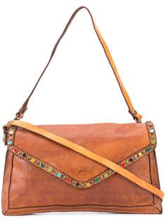 декорированная сумка через плечо Campomaggi