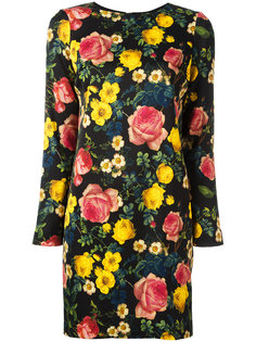 мини-платье с цветочным принтом Fausto Puglisi