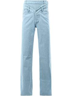 джинсы свободного кроя с двойным поясом Y / Project