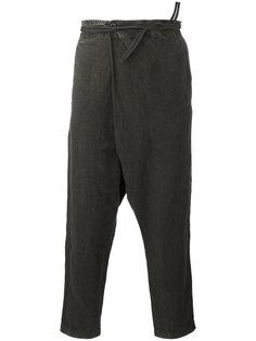 брюки с заниженной проймой Transit