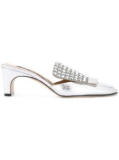 декорированные туфли Sergio Rossi