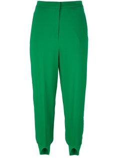 укороченные брюки с разрезами на манжетах Twin-Set