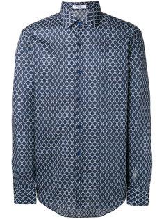 рубашка с мелким узором Fashion Clinic Timeless