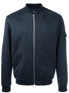 классическая куртка-бомбер A.P.C.