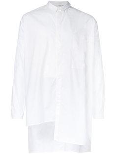 длинная асимметричная рубашка Isabel Benenato