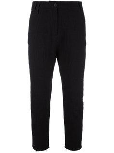 брюки с завышенной талией и необработанными краями Thom Krom
