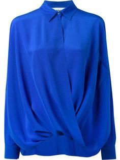 драпированная рубашка Moschino