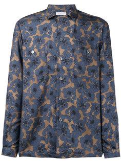 рубашка с цветочным узором Boglioli