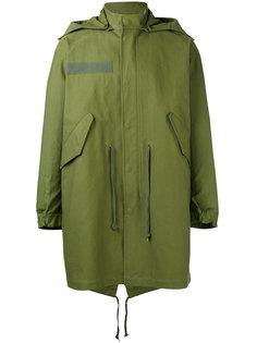 пальто миди с капюшоном Closed