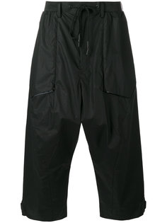 Wide leg cropped trousers Y-3