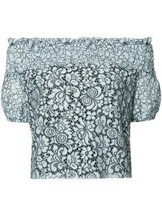 кружевная блузка Sabine Zac Zac Posen