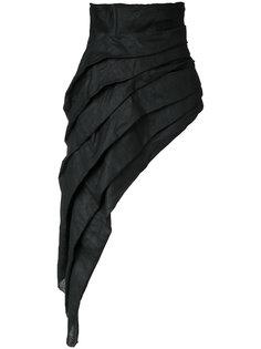 асимметричная юбка Aganovich