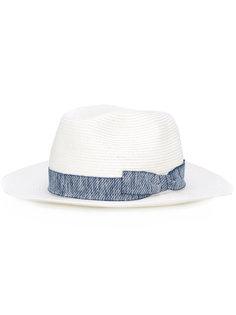 шляпа с декоративной тесьмой и бантом Eleventy