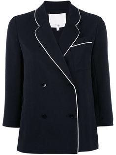 пиджак с контрастной окантовкой Tibi