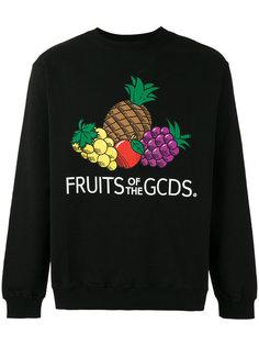 толстовка с принтом фруктов Gcds