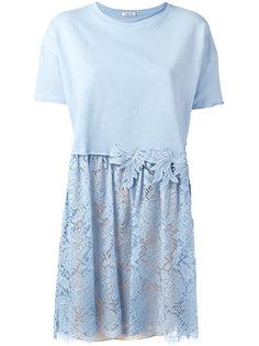 платье с кружевным низом P.A.R.O.S.H.