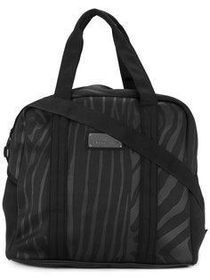 спортивная сумка с зебровым принтом Adidas By Stella Mccartney
