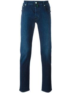 узкие эластичные джинсы Jacob Cohen