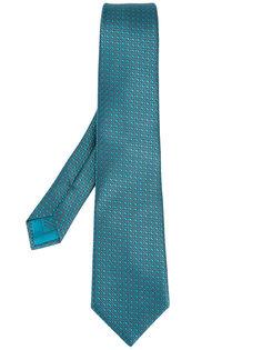 галстук с мелким узором Brioni