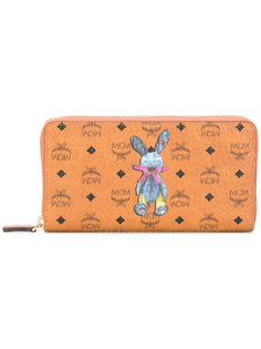 кошелек с принтом кролика MCM