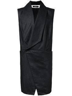 асимметричный жилет с четырьмя карманами A New Cross
