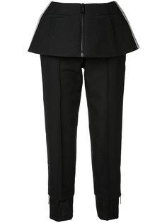 брюки с баской Vera Wang