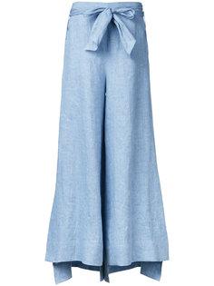 расклешенные брюки с поясом Demoo Parkchoonmoo