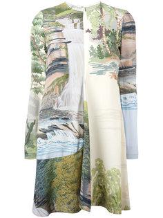 платье с принтом Landscape Stella McCartney