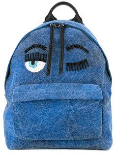 рюкзак с отделкой бусинами Chiara Ferragni