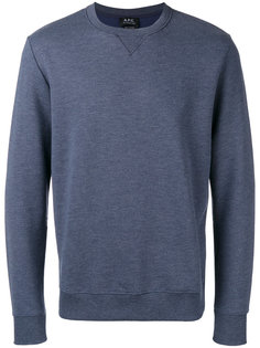 70 Marl sweatshirt A.P.C.