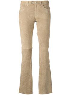 расклешенные брюки кроя скинни Sylvie Schimmel