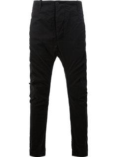 узкие брюки с заниженным шаговым швом 11 By Boris Bidjan Saberi