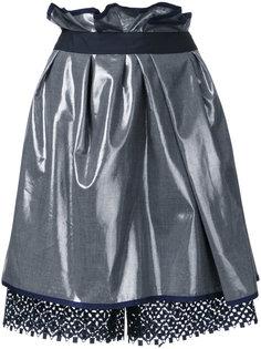 юбка с присборенной отделкой Kolor