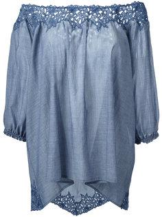 блузка с эластичными манжетами Steffen Schraut