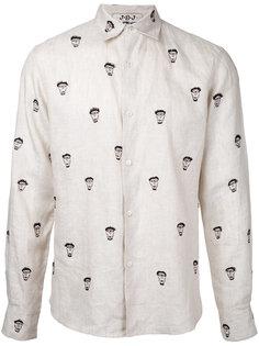 рубашка с принтом лиц Jupe By Jackie