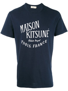 футболка Palais Royal Maison Kitsuné