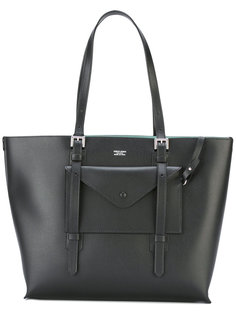 сумка-тоут с контрастной подкладкой Giorgio Armani