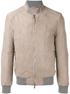 куртка-бомбер на молнии Eleventy