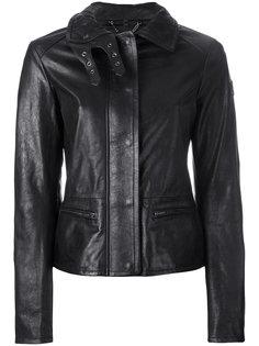 куртка в байкерском стиле со стеганым воротником Belstaff