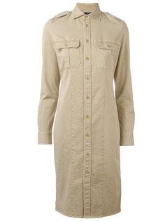 платье-рубашка в стиле милитари Polo Ralph Lauren