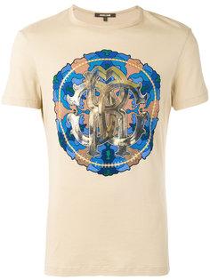 футболка с принтом Circle  Roberto Cavalli
